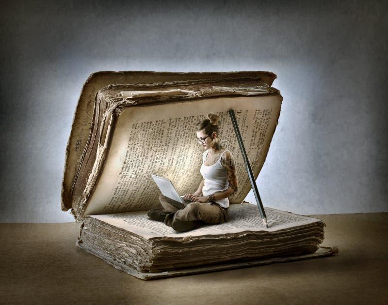 Lesen eines Buches