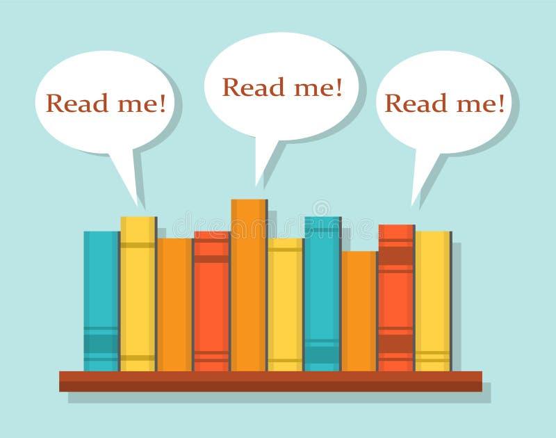 Lesen Sie Bücher lizenzfreie abbildung
