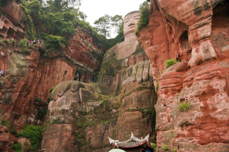 Géant Bouddha de Leshan photos libres de droits