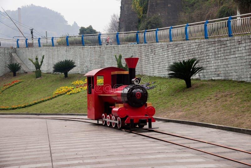 Leshan City, Sichuan Qianwei Kayo National Mine Park Plaza stock photography