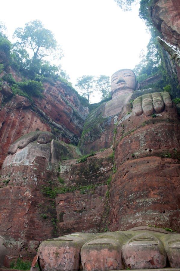 Download Leshan Giant Buddha stock photo. Image of face, buddha - 21498860