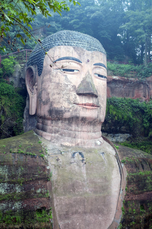 Download Leshan Giant Buddha stock image. Image of china, giant - 21499209