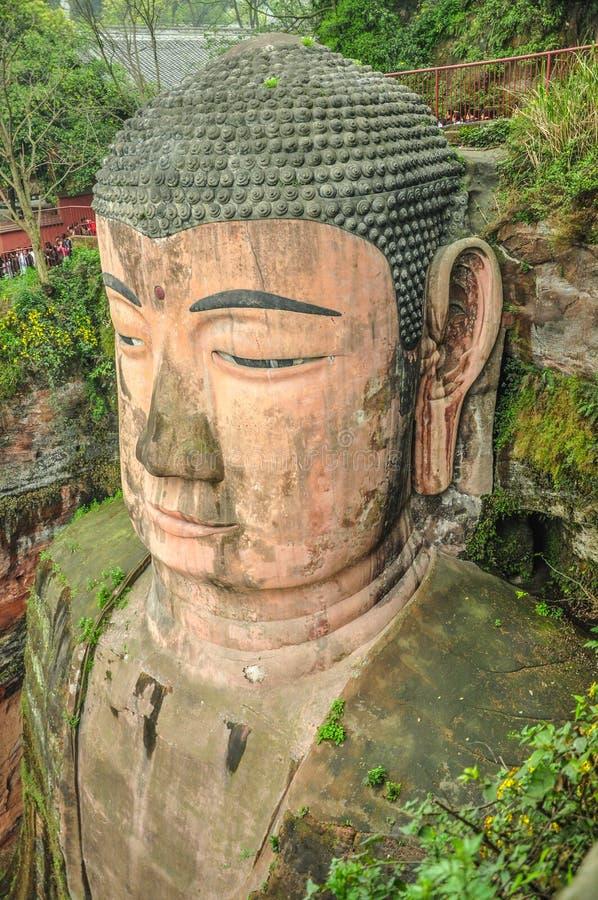 Leshan Giant Buddha, Sichuan. royalty free stock photos