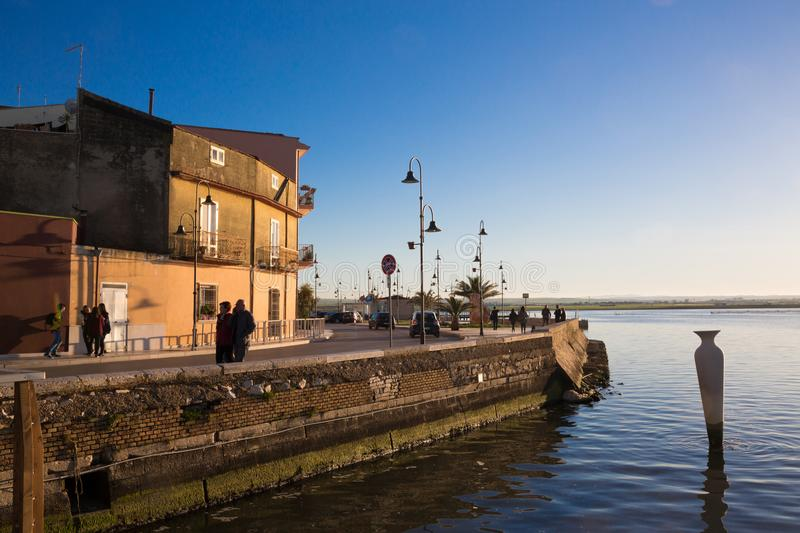 LESINA-BY royaltyfri foto
