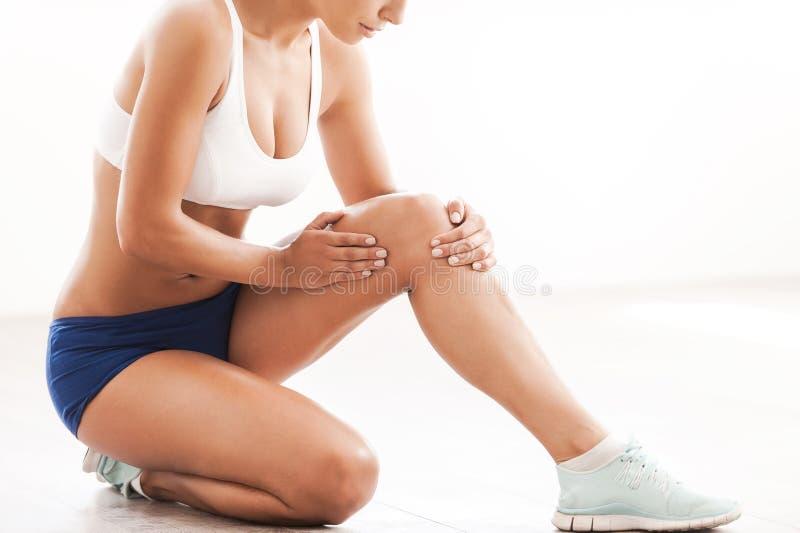 Lesione fisica immagini stock