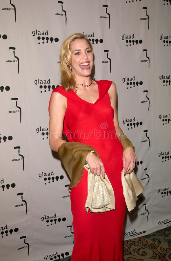 Leslie Bibb. 15APR2000: Actress LESLIE BIBB at the Gay & Lesbian Alliance Against Defamation (GLAAD) Awards in Los Angeles. Paul Smith/Featureflash stock image