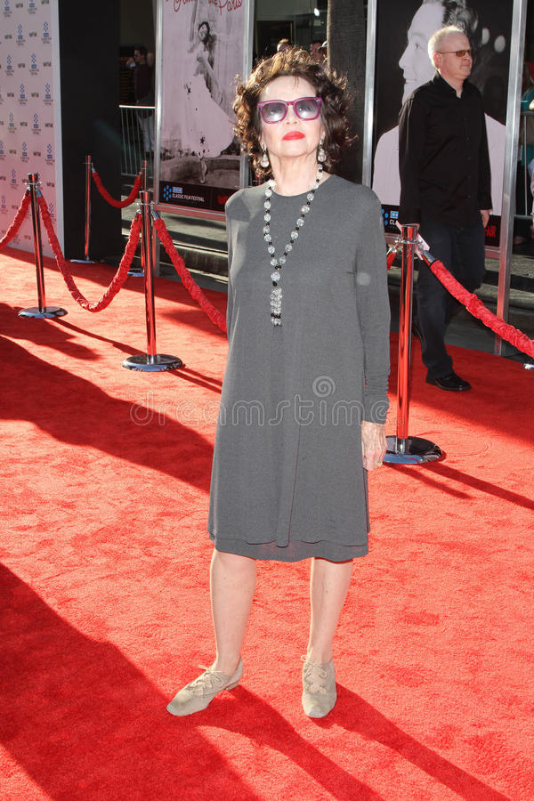 Leslie Caron. At the TCM Classic Film Festival Opening Night An America in Paris, Chinese Theater, Hollywood, CA. 04-28-11 royalty free stock photo