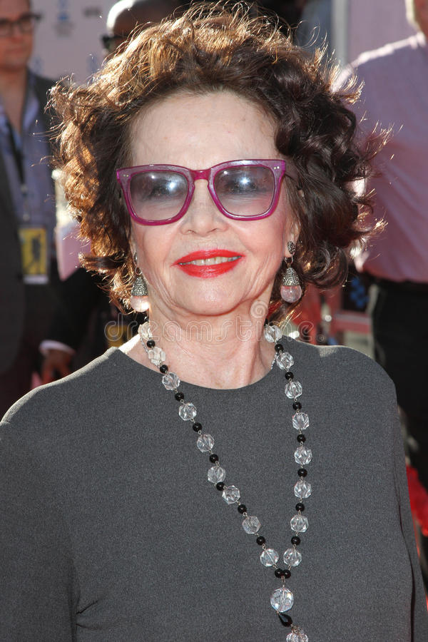 Leslie Caron. At the TCM Classic Film Festival Opening Night An America in Paris, Chinese Theater, Hollywood, CA. 04-28-11 stock image