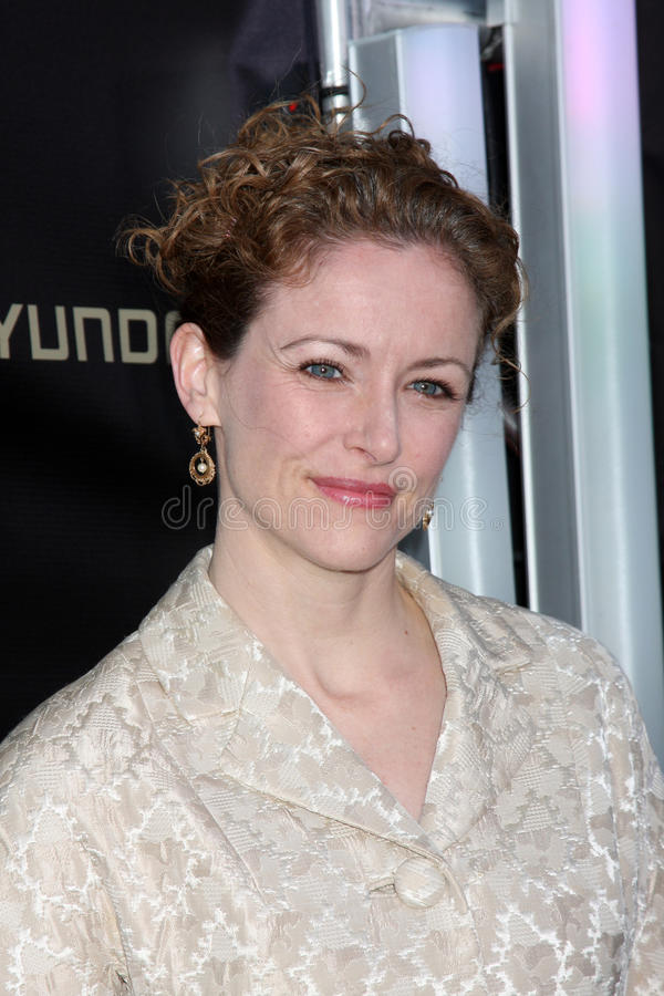 Leslie Hope. Arrives at the '24' Series Finale Party Boulevard3 Los Angeles, CA April 30, 2010 stock photo