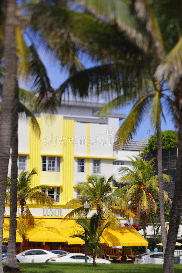 Leslie Hotel Miami Beach royalty free stock photo