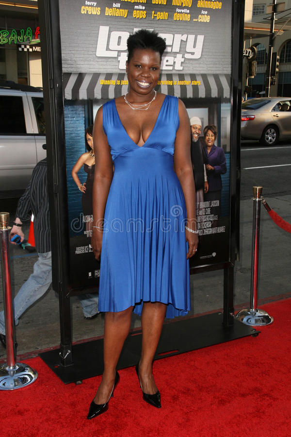 Leslie Jones. At the World Premiere of Lottery Ticket, Chinese Theater, Hollywood, CA. 08-12-10 royalty free stock images