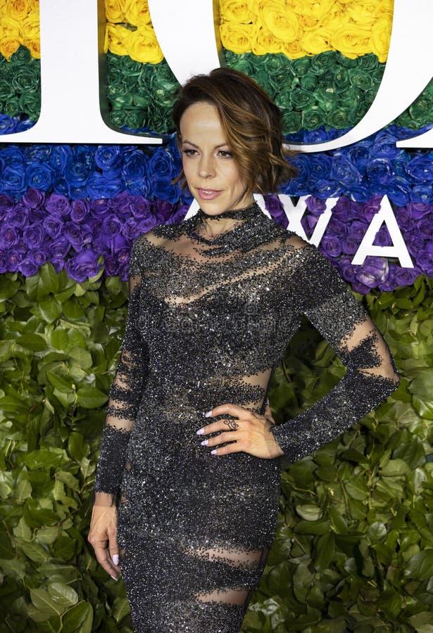 Leslie Kritzer a Tony Awards 2019 immagine stock libera da diritti