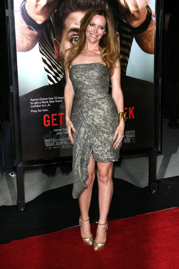 Leslie Mann. At the Get Him To The Greek Los Angeles Premiere, Greek Theater, Los Angeles, CA. 05-25-10 royalty free stock photography