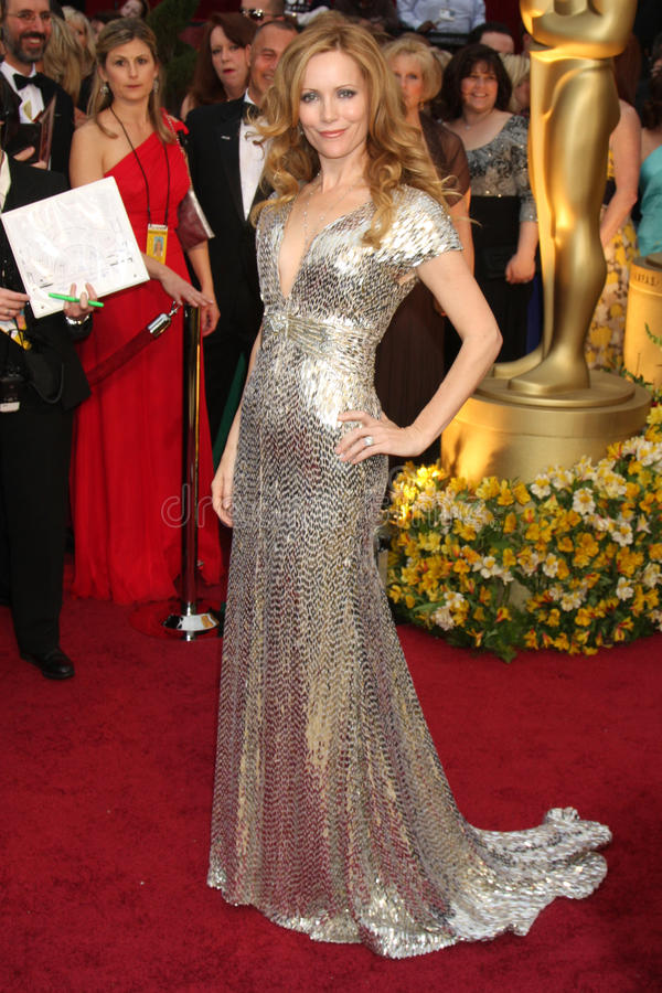 Leslie Mann. Arriving at the 81st Academy Awards at the Kodak Theater in Los Angeles, CA on February 22, 2009 stock photos