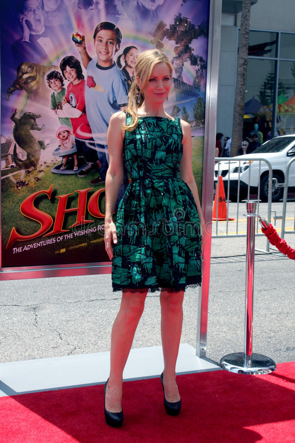 Leslie Mann. Arriving at the 'Shorts' Premiere at Gauman's Chinese Theater in Hollywood, CA on August 15, 2009 royalty free stock images