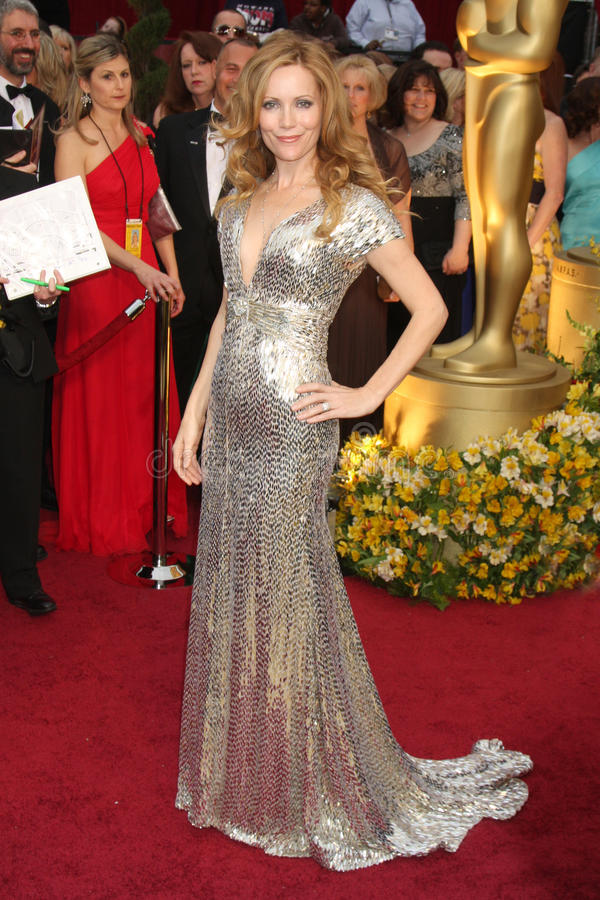 Leslie Mann. Arriving at the 81st Academy Awards at the Kodak Theater in Los Angeles, CA on February 22, 2009 stock photo