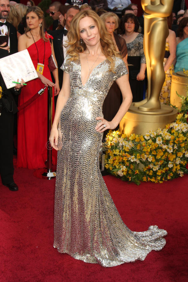 Leslie Mann. Arriving at the 81st Academy Awards at the Kodak Theater in Los Angeles, CA on February 22, 2009 royalty free stock image