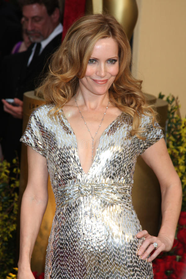 Leslie Mann. Arriving at the 81st Academy Awards at the Kodak Theater in Los Angeles, CA on February 22, 2009 royalty free stock photos