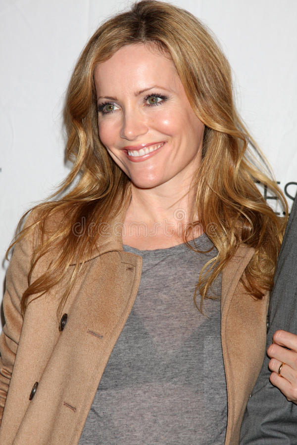 Leslie Mann. LOS ANGELES - MAR 12: Leslie Mann arriving at the 'Freaks & Geeks, Undeclared' PaleyFest 2011 at Saban Theatre on March 12, 2011 in Beverly Hills royalty free stock photo
