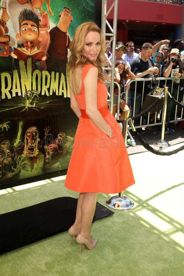 Leslie Mann. At the 'ParaNorman' Los Angeles Premiere. Universal Studios, Universal City, CA 08-05-12 royalty free stock images