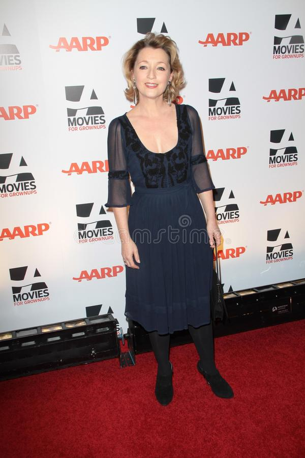 Leslie Manville. At AARP Magazine's Movies For Grownups, Beverly Wilshire Hotel, Bevely Hills, CA. 02-07-11 stock images