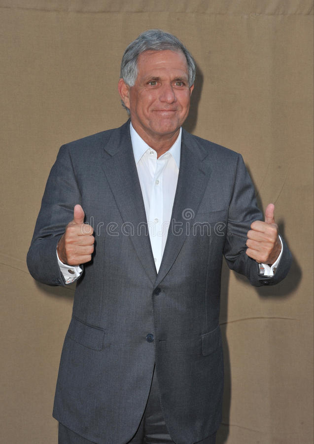 Leslie Moonves. LOS ANGELES, CA - JULY 29, 2013: CBS boss Leslie Moonves at the CBS 2013 Summer Stars Party in Beverly Hills royalty free stock photo