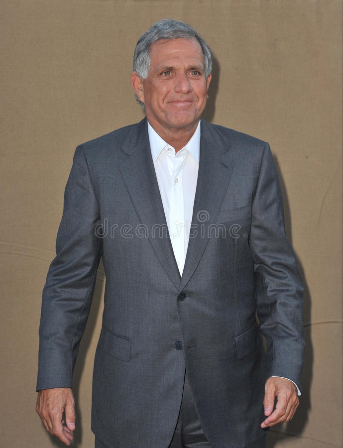 Leslie Moonves stock images