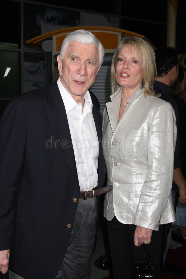 Leslie Nielson images stock