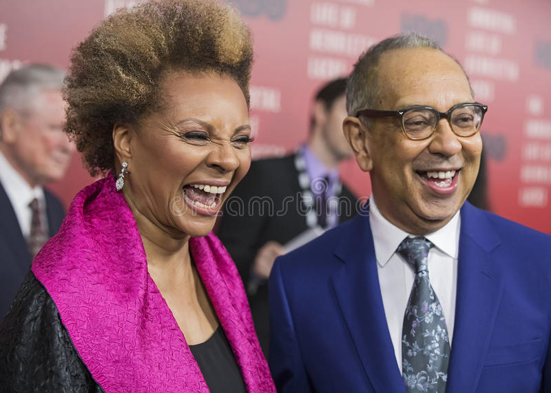 Leslie Uggams and George C. Wolfe royalty free stock photography