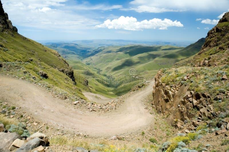 Lesotho Roads Sani Pass