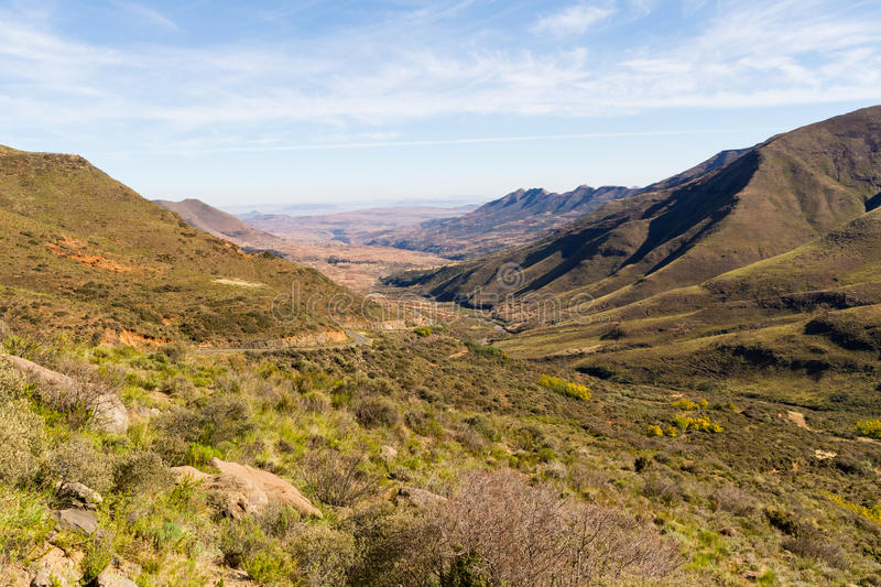 Lesotho Valley royalty free stock images