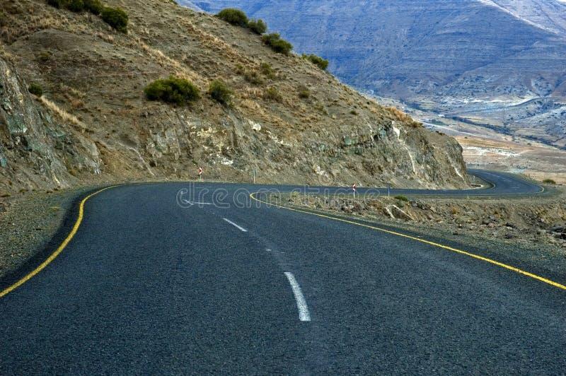 Lesoto 6 dróg zdjęcie stock