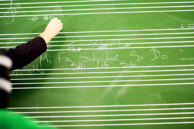 lession muzyka zdjęcie royalty free