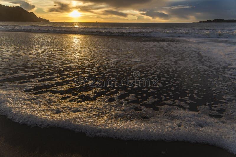 Lessives de la plage photos stock