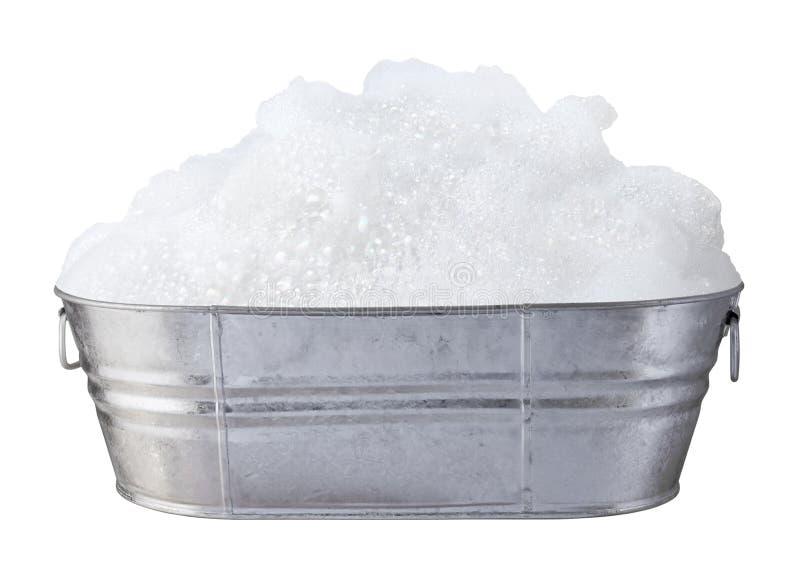 Lessives et bulles de savon photo libre de droits