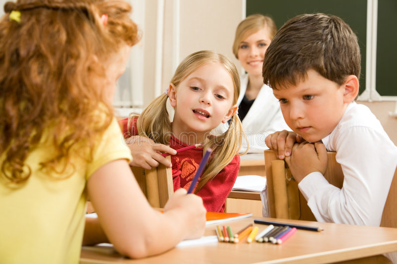 Download At Lesson Stock Image - Image: 5923081