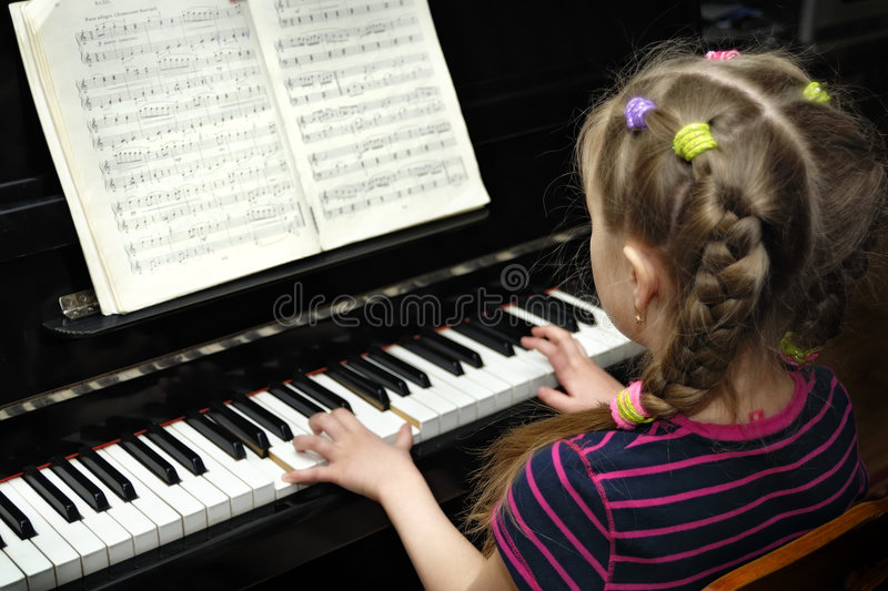 Download Lesson of the music stock image. Image of coordination - 8916535