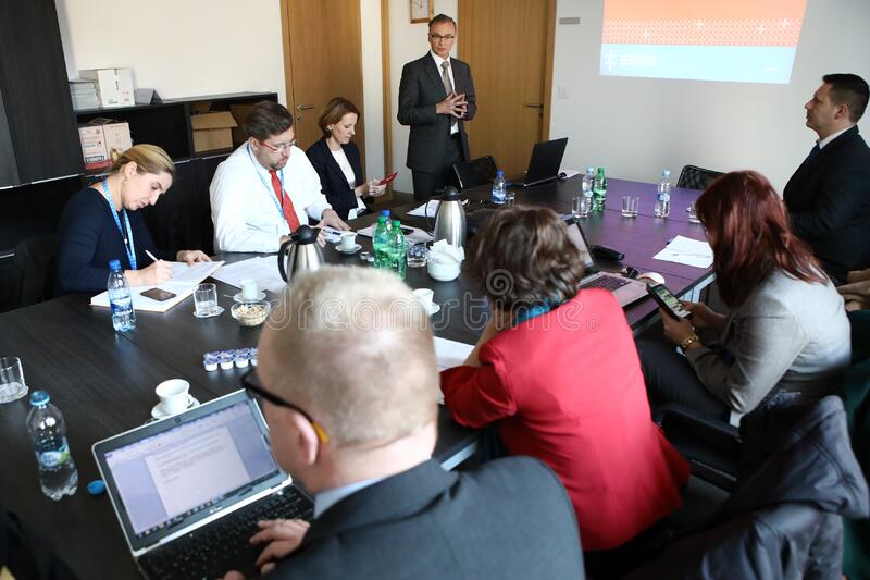 LESSONS LEARNT OF THE SLOVAK EU COUNCIL PRESIDENCY stock photo