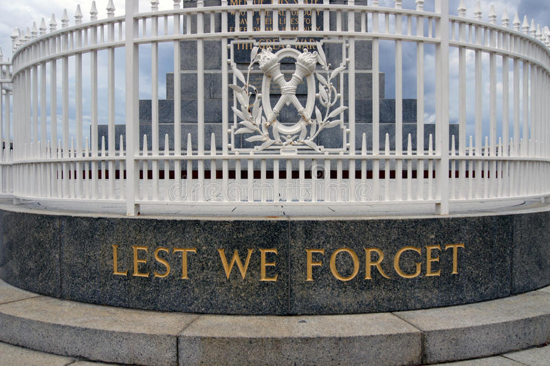 Lest we Forget royalty free stock photo