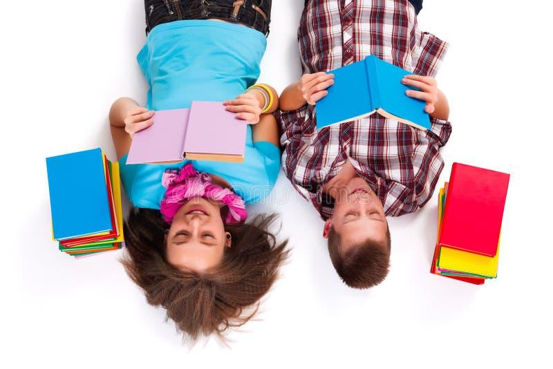 Lesung ist Spaß stockfoto