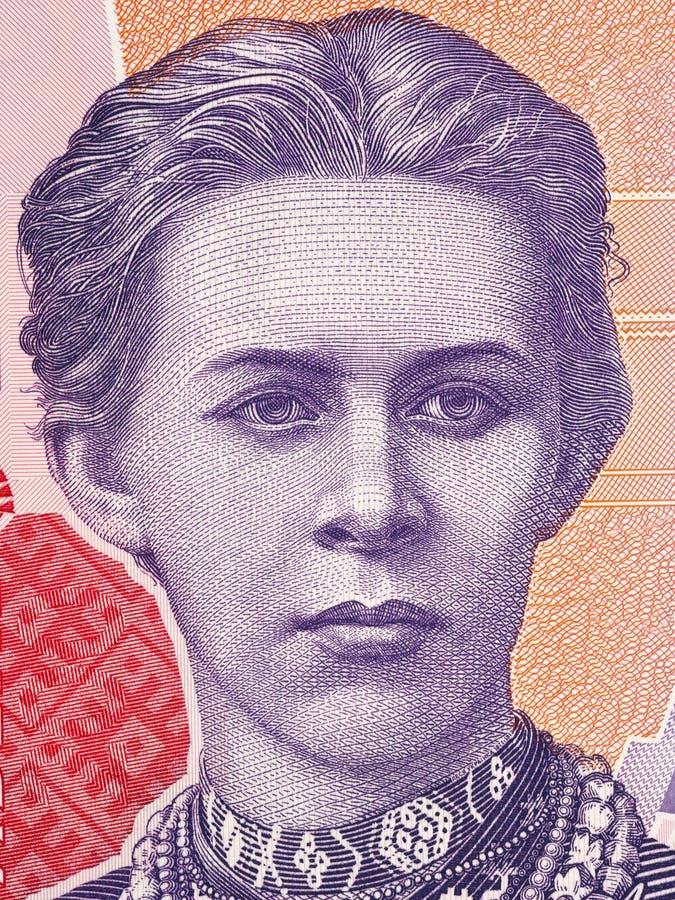 Lesya Ukrainka画象 免版税图库摄影