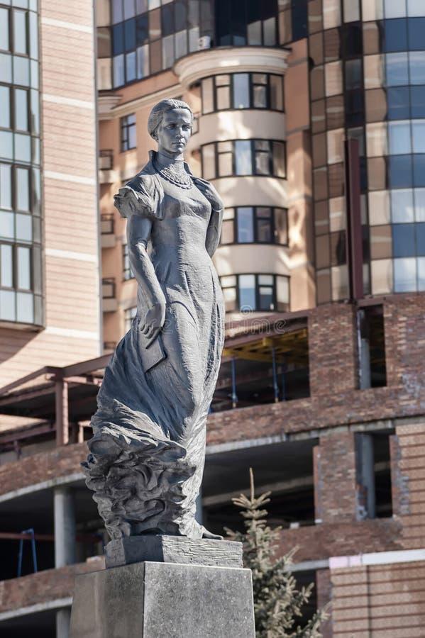 Lesya Ukrainka Statue fotos de archivo libres de regalías