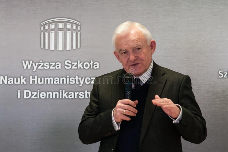 Leszek Cezary Μίλερ στοκ φωτογραφία