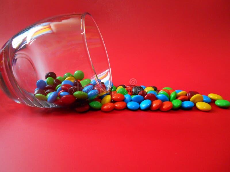 Letmangia il cioccolato immagini stock