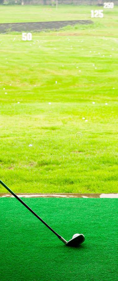 Let go to drive golf stock photography