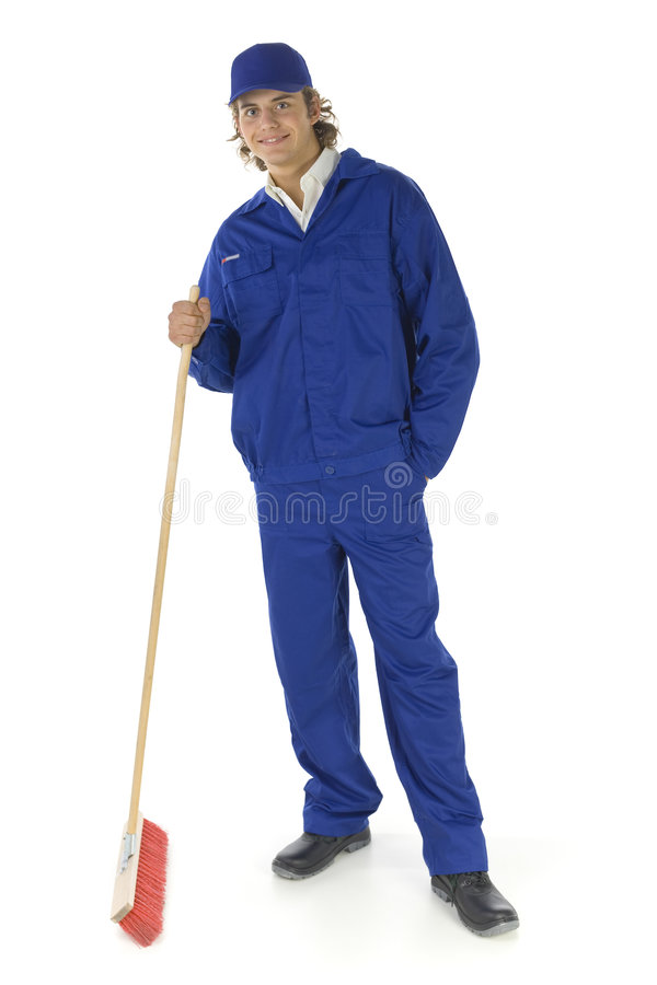 Let's cleaning here. stock photo