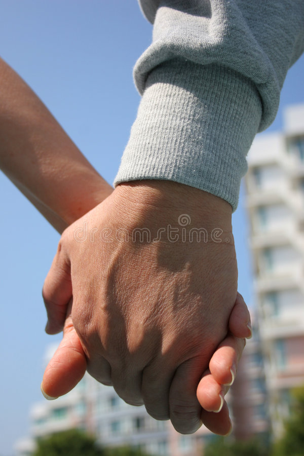 Let's Do This Together stock photo