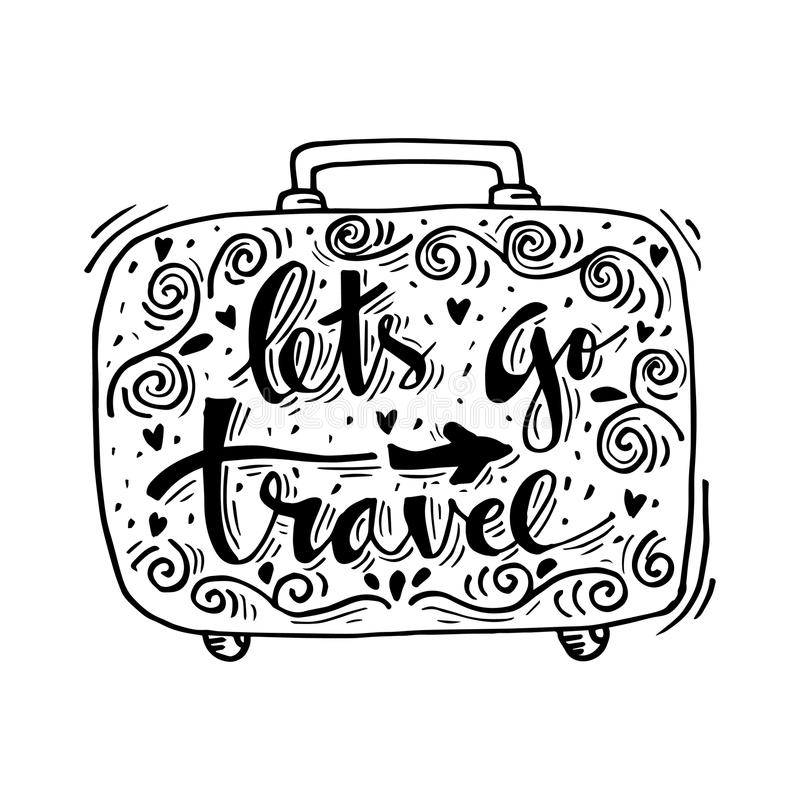 Free Let`s Go Travel. Royalty Free Stock Images - 106677129