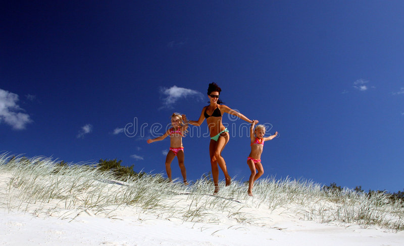 Let's Hit the Beach! stock image
