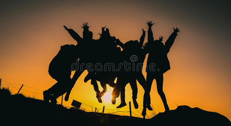 Let's Journey royalty free stock image